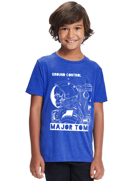 Kids David Bowie Major Tom T Shirt | David Bowie Shirt - Clarafornia