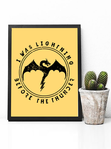 Imagine Dragons Thunder Poster Print | Imagine Dragons Wall Art - Clarafornia