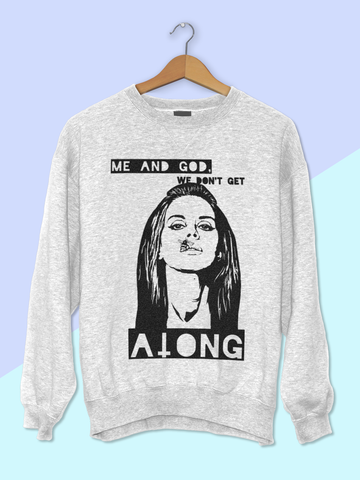 Womens Lana Del Rey Sweatshirt | Gods and Monsters Sweatshirt - Clarafornia