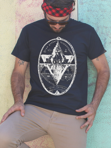 Mens As Above So Below Shirt | Mens Occult Shirt - Clarafornia