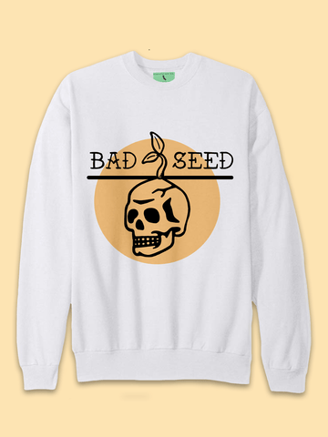 Mens Bad Seed Tattoo Sweatshirt - Clarafornia