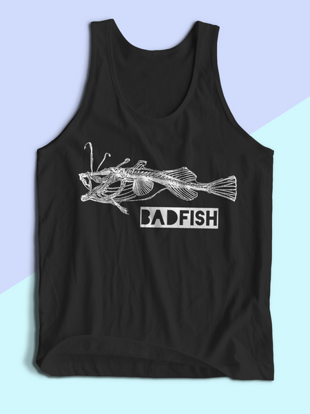 Mens Badfish Tank Top | Mens Sublime Shirt - Clarafornia