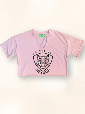 Battle Cat Retro Crop Top - Clarafornia