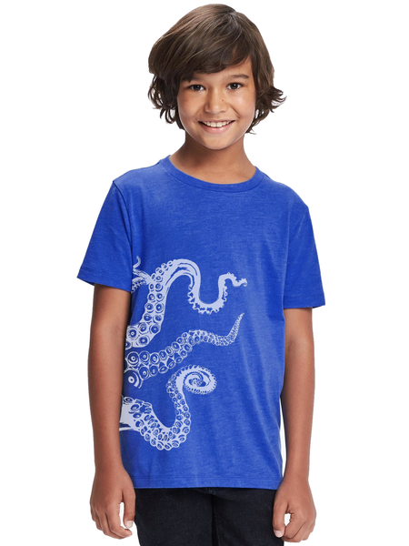 Kids Octopus Tentacles T Shirt - Clarafornia