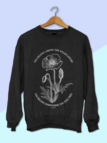 Womens Tom Petty Wildflowers Sweatshirt | Tom Petty Lyrics Sweatshirt - Clarafornia