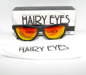 Hairy Eyes - Polarised Sunglasses with Attitude - Atlantic Sunrise