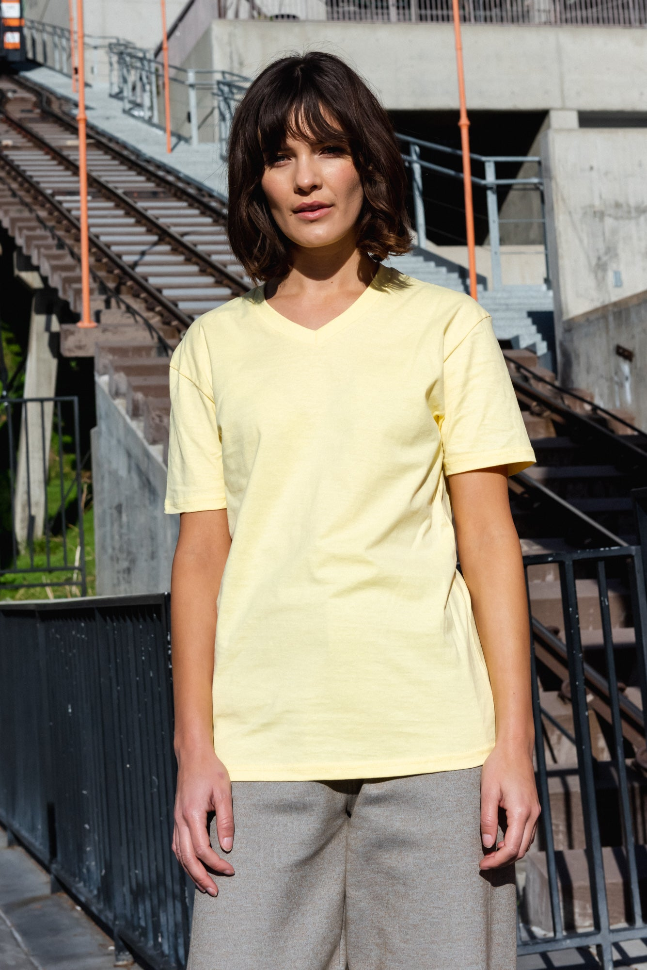 V-Neck T-Shirt | CL-1005