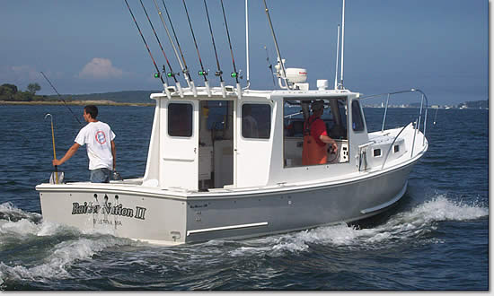 4. Additional Hours ($100 Per Hour) - Black Hull Charters - Boston and Cape Cod Sport Fishing