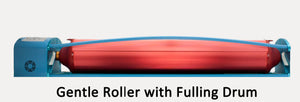 wet felt rolling machine.  felt rolling machine.  felting machine.  fulling drum, Gentle Roller