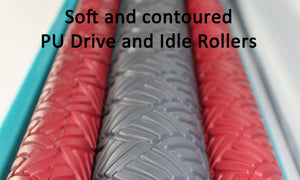 wet felt rolling machine.  felt rolling machine.  felting machine.  soft pu rollers, Gentle Roller