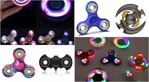 Image: Collection of fidget spinners