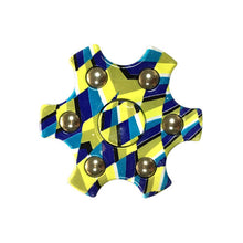 Blue and Yellow Fidget Spinner