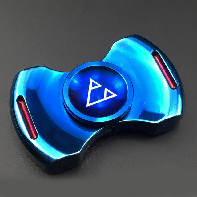 Metal Triad Fidget Spinner