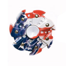 Red White and Blue Toy Spinner