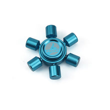 Blue Fidget Spinner Toy Land Mine Version