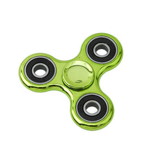 Green Chrome Fidget Spinners