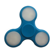 Blue LED Fidget Spinners
