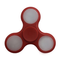 Red LED Fidget Spinner