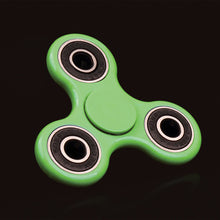 Green ABS classic fidget spinner