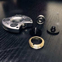 Game Console CNC Fidget Spinners Design Disassembled