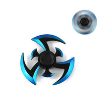 Blue black Naruto Metal Hand Spinner - Syuriken