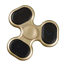 Gold Blue Tooth Fidget Spinner