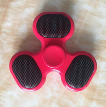 Red Blue Tooth Fidget Spinner