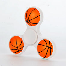 White Basketball Fidget Spinner
