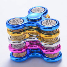 Flower Metallic Fidget Spinner
