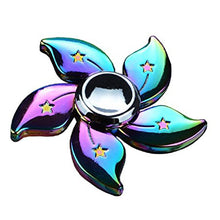 Flowers and Stars Zinc Alloy Fidget Spinner