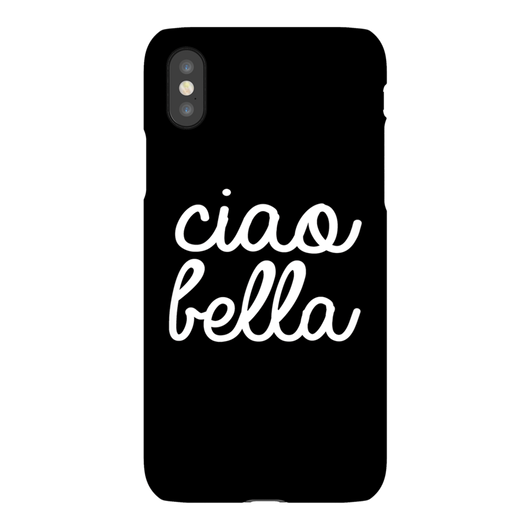 Ciao Bella Phone Case for iPhoneX - Sale