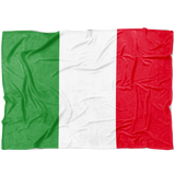 Italian Flag Fleece Blanket