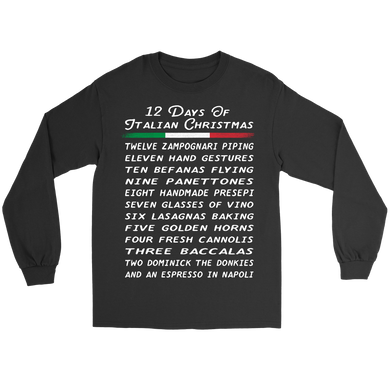 12 Days of Italian Christmas Shirt