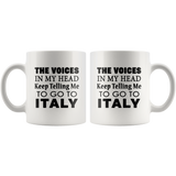 The Voices 11oz Mug