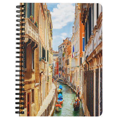 Venice II Spiral Bound Notebook