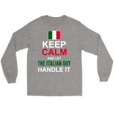 Let The Italian Guy Handle It Shirt