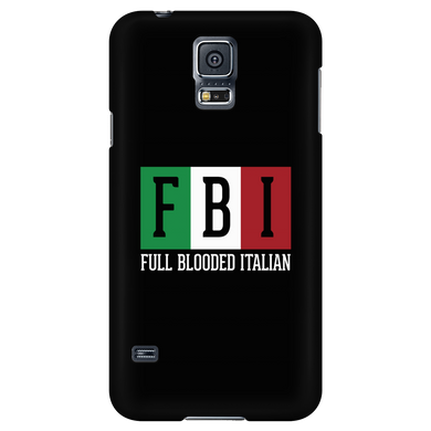 Full Blooded Italian Black Phone Case