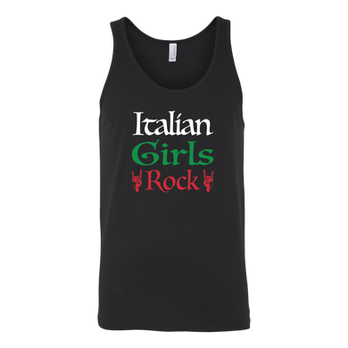 Italian Girls Rock I Canvas Women's Tank