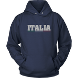 Italian Shirts - Unisex Hoodie with Italia Design