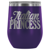 Italian Princess Wine Tumbler