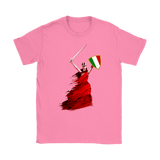 Italian Woman Warrior Shirt