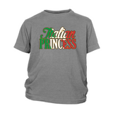 Italian Princess Kids Shirt