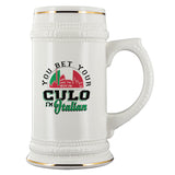 You Bet I'm Italian Beer Stein