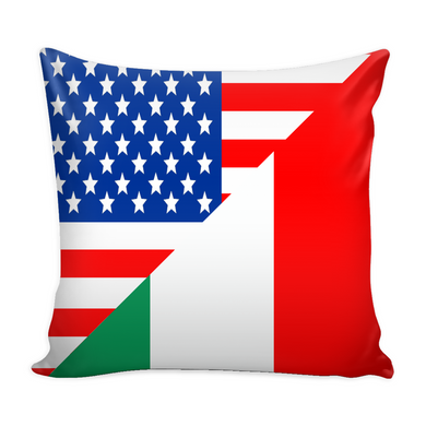 American Italian Decorative Throw Pillow Set (Pillow Cover and Insert)