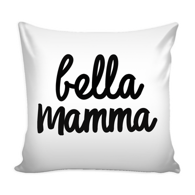 Bella Mamma Decorative Throw Pillow Set (Pillow Cover and Insert)