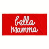 Bella Mamma Beach Towel