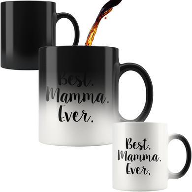 Best Mamma Ever Color Changing Mug