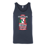 Italian Woman Canvas Women's Tank