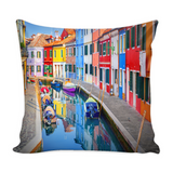 Burano Decorative Throw Pillow Set (Pillow Cover and Insert)