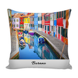 Burano Pillow Cover with Insert